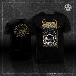 KINGDOM - Sepulchral Psalms from the Abyss of Torment [T-SHIRT / przedsprzedaż]