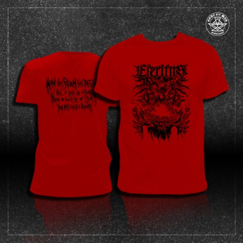 ETERITUS - Following the Ancient Path [T-shirt RED - pre-order]