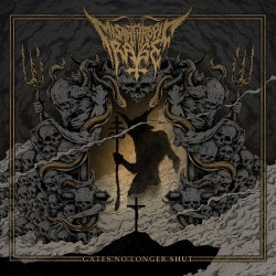 MISANTHROPIC RAGE - Gates No Longer Shut [CD - pre-order]
