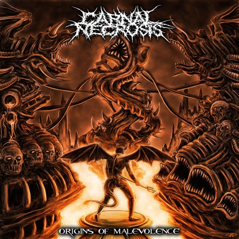 CARNAL NECROSIS - Origins Of Malevolence