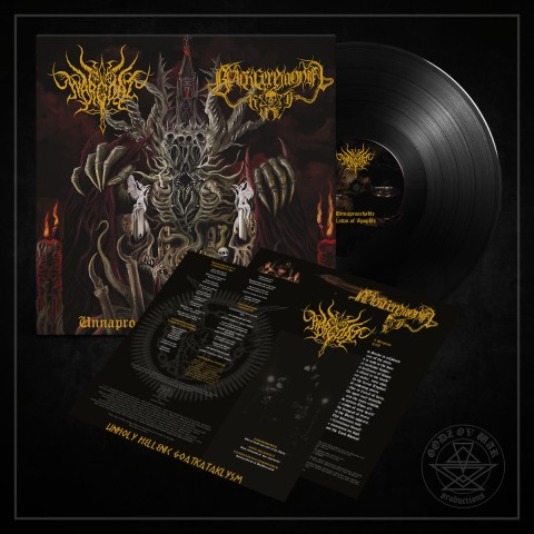 WARGOAT / BLACK CEREMONIAL KULT - Unapproachable Laws of the Abyss
