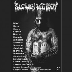 SLOWLY WE ROT FANZINE 15
