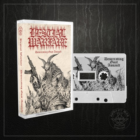 BESTIAL WARFARE - Desecrating Goat Assault