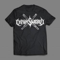 CHAINSWORD - Logo/Panzerkreuz T-shirt