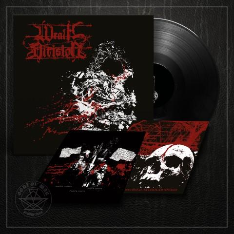 WRATH DIVISION - Barbed Wire Veins LP black