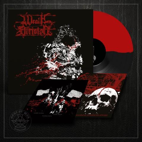WRATH DIVISION - Barbed Wire Veins LP black/red